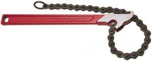 Цепной ключ с двойными губками Virax для труб до 110 мм