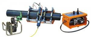 Гидравлическая сварочная машина DELTA BASIC 160 для сварки пластиковых труб