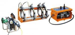 Гидравлическая сварочная машина DELTA BASIC 200 для сварки пластиковых труб