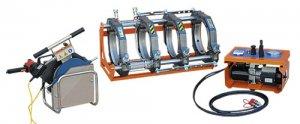 Гидравлическая сварочная машина DELTA BASIC 250 для сварки пластиковых труб