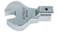 Головка с открытым зевом (рожковый ключ)  SH 15D