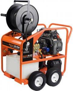 Бензиновый водоструйный аппарат для очистки труб JM-3080