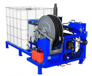 Каналопромывочная машина «Посейдон» модель ВНА-Д-150-100