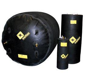 Цилиндрические многоразмерные пневмозаглушки Vetter GmbH