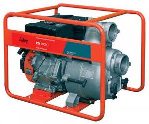 Бензиновая мотопомпа для сильнозагрязненной воды c абразивными частицами FUBAG PG 1800T
