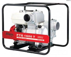 Бензиновая мотопомпа для сильнозагрязненной воды c абразивными частицами FUBAG PTG 1600T