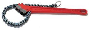 Цепные ключи с двойными губками Ridgid для труб до 7.1/2