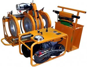 Электрогидравлическая сварочная машина SRK SK315 для стыковой сварки пластиковых труб