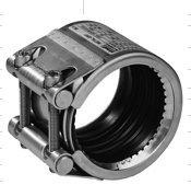 Соединительная муфта STRAUB METAL-GRIP - стяжной механизм из нержавеющей стали (ES)
