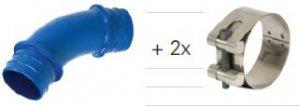 Соединительная муфта-отвод 45º STRAUB PLAST-PRO B45