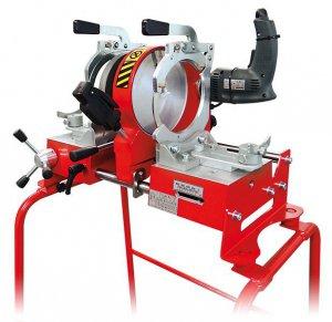 Механический аппарат стыковой сварки пластиковых труб OMISA 6160/Li с поворотными зажимами