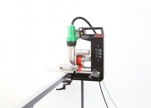 Автоматический аппарат для сварки баннеров и полимерных тканей Leister Hemtek ST