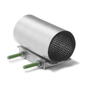 Ремонтные хомуты из нержавеющей стали Romacon RS-1 (для труб 44-346 мм, 1 затвор)