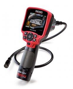 Портативная камера-видеоэндоскоп для диагностики Ridgid micro CA-350