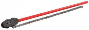 Двусторонние цепные трубные ключи Rekon для труб до 18