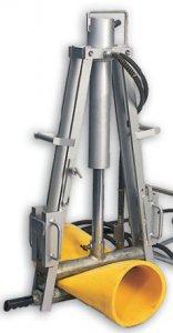 Гидравлический передавливатель для полиэтиленовых труб Hy-Ram SOU 250