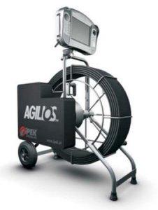 Проталкиваемая система с поворотной камерой AGILIOS