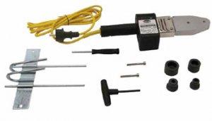 10050/M2/TFА - Аппарат 10050 в комплекте с муфтами 20 и 25 мм (DVS 2208) и струбциной для крепления на поверхности.