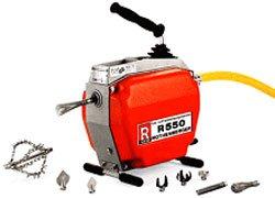 Электрическая секционная машина для прочистки труб R550