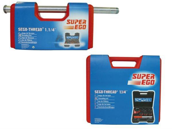 Резьбонарезной набор SUPER-EGO PROMO с клуппами