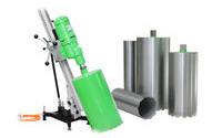 Алмазный инструмент для сверления и резки бетона