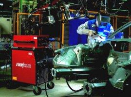 Сварочные аппараты EWM серии TETRIX с использованием технологии сварки activArc.