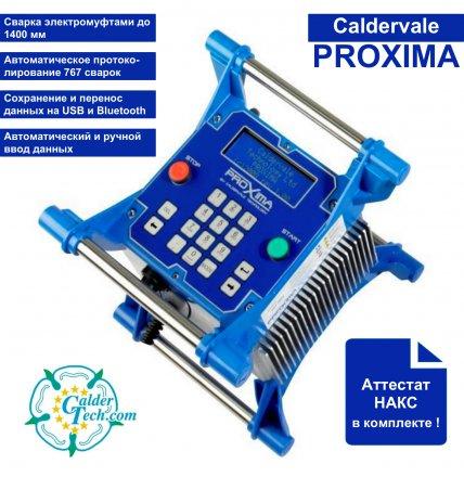 Новинка каталога! Многофункциональный электромуфтовый сварочный аппарат Caldervale Proxima.